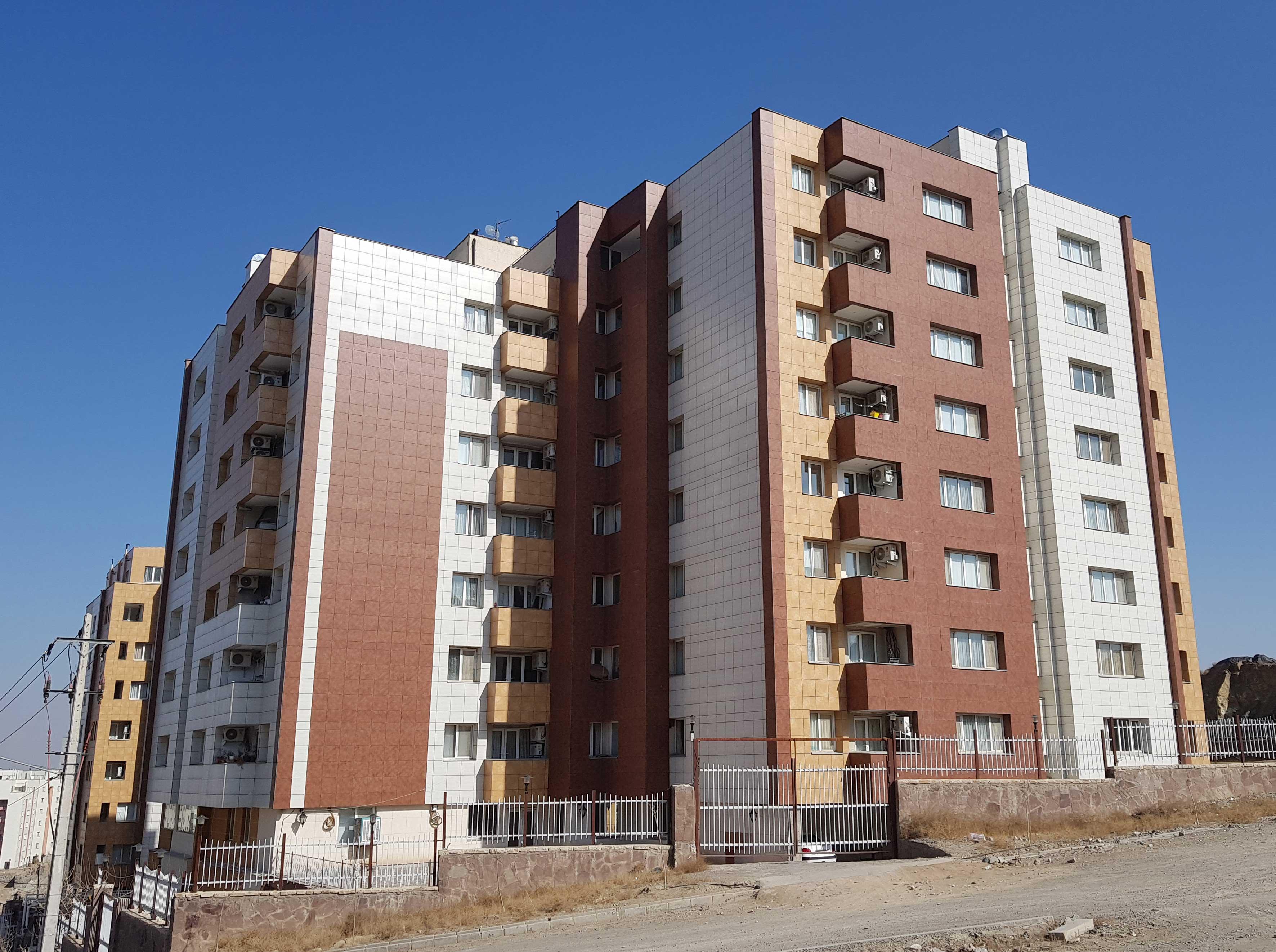 برج های مسکونی بنیاد مشهد